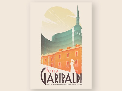 Porta Garibaldi lady urban landscape city tower unicredit italia italy milano milan garibaldi porta
