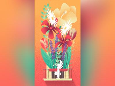 Flowery Balcony