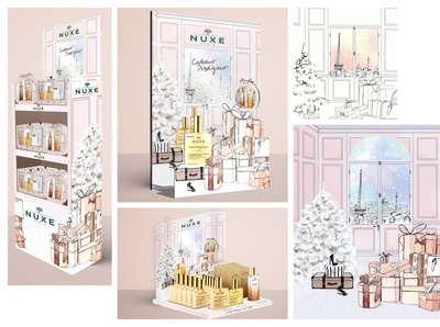 Nuxe - Christmas Campaign