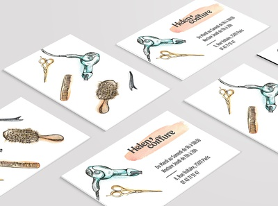 Business Card - Hairdresser