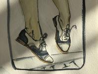 Twin Peaks - Audrey - Watercolour Illustration