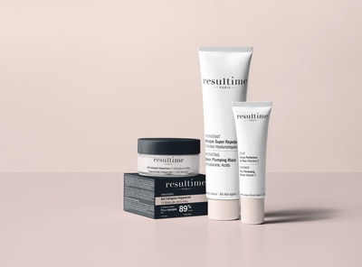 Packaging Design Cosmetic Resultime