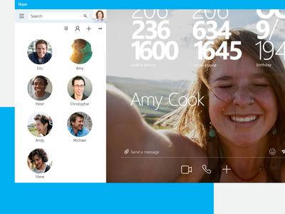 Skype - Default Chat Canvas