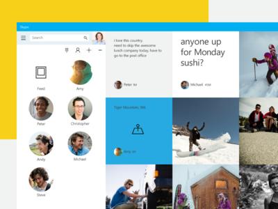 Skype - Activity Feed