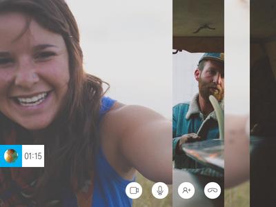 Skype - Audio Call Slideshow