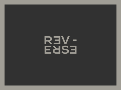 RE VERSE Logo Proposal