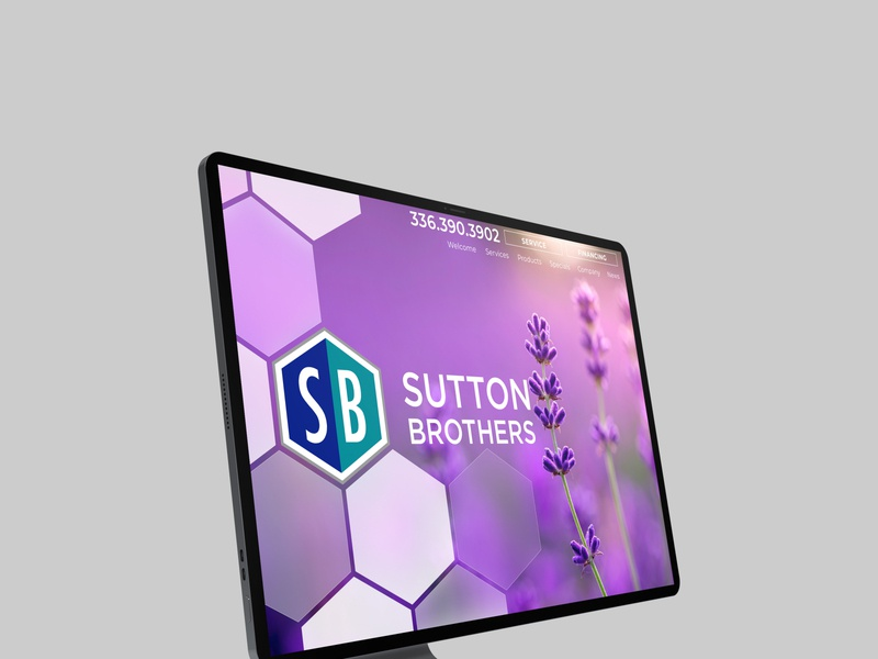 suttonbrothersws website design