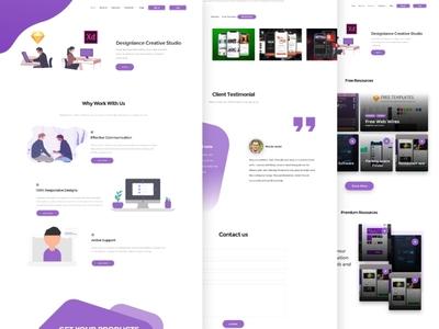 Designlance Creative Studio Home Page