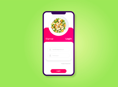 Simple Login App for Restaurant