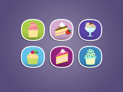 More Food icons