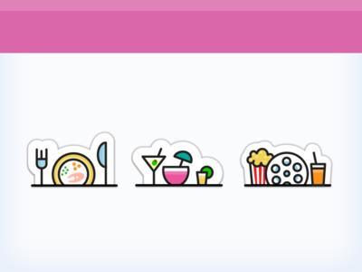 Shelf icons