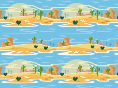 Desert Love Pattern