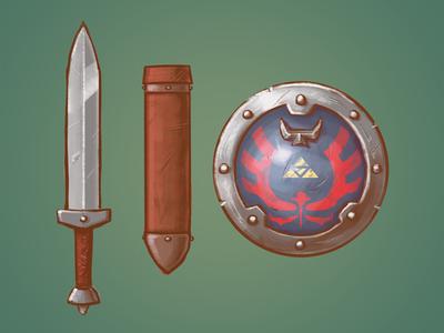 Zelda Redesign: Sword & Shield
