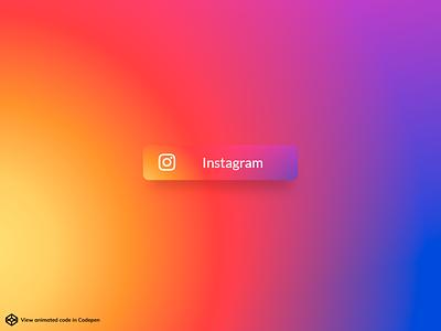 Instagram button colors colorfull colors button instagram animation web design concept design