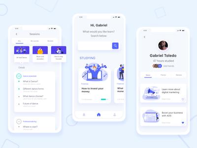 Study app Concept