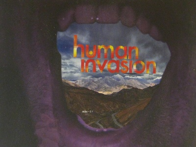 human invasion - CD design