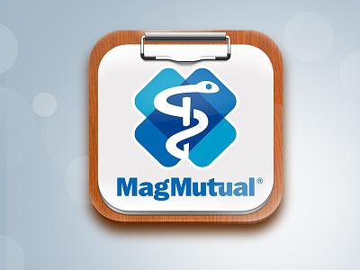 Magmutual icon app ipad magmutual medicine paper medic
