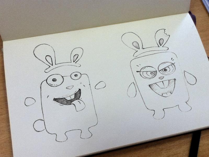 Sketch rabbits sketch rabbits altoros t-shirts сharacters