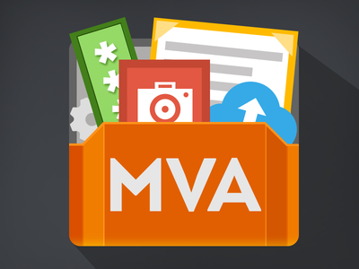 Icon MVA icon flat android app file manager password documents setting