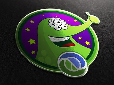Clojure community altoros logo logotype green alien clojure lisp community belarus programming language