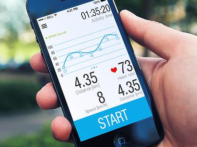 Sprek ui interface ios sports altoros app mobile