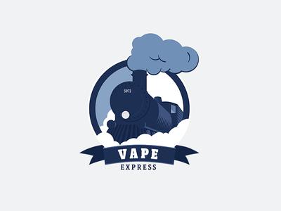 Vape Express minsk express vape shop logotype logo identity design