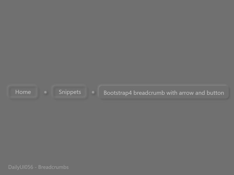 DailyUI056 - Breadcrumbs neumorphic design neumorphism neumorphic dailyui056 breadcrumbs daily ui uidesigner uidesign xd design designer adobexd dribbble dailyuichallenge dailyui