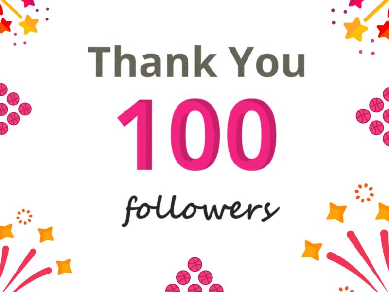 100+ followers uidesigner xd photoshop illustrator adobe uxdesign uidesign thank you love designs designers followers thanks thanksgiving thankyou 100followers dribbble