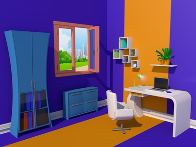 room in the office