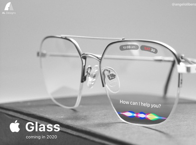 Apple Glass - Siri Concept concept design ux ui ios appleglasses appleglass apple