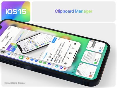 iOS 15 Clipboard manager 📋🎥 wwdc2021 wwdc iphone12 iphone13 ios ios14 ios15