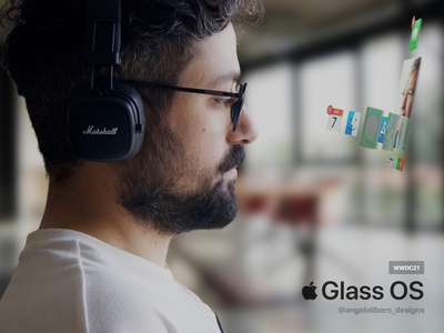 Apple Glass OS - PREVIEW 👓 ar os apple glass os arheadset mixed reality augmented reality virtual reality smart glasses iglasses iglass apple glass apple glasses