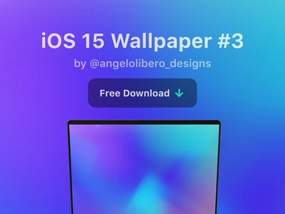 iOS 15 wallpaper #3 - FREE download macbook iphone wallpaper wwdc2021 wwdc21 iphone13 iphone12 ios ios14 ios15