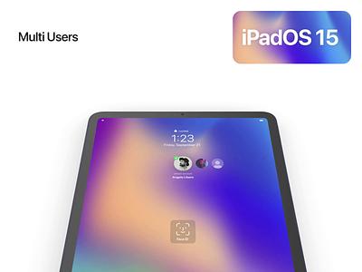 iPadOS 15 Multi User Account 👨👩👧👧 wwdc2021 wwdc21 ios 15 ipados 15 ipados