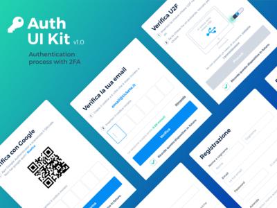 Auth UI Kit - authentication process kit