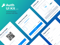 Auth UI Kit - authentication process kit