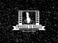 Logo for Wheels to Reels Event at Durango Coffee Co.