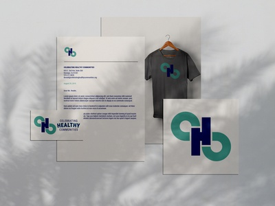 Logo, Stationery & Tee for Celebrating Healthy Communities