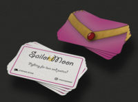 Sailor Moon Business Card