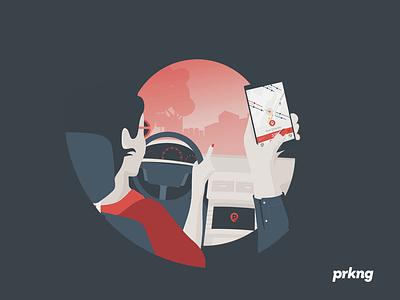 Prkng app : Copilot copilot howto app prkng