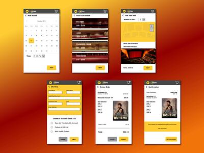 Checkout Flow Concept flow checkout iphone 8 design mobile app design ui