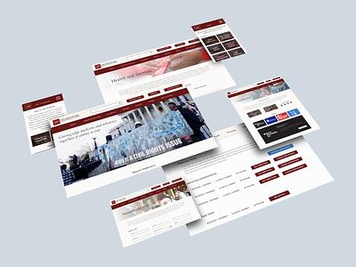 Nonprofit Website Redesign redesign nonprofit project ux design ux website mobile desktop information architecture ui