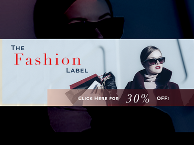 Fashion Ad Banner graphic design design website desktop adobe photoshop branding adobe ecommerce fashion