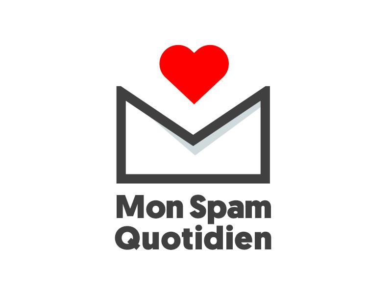 Mon spam Quotidien spam logo
