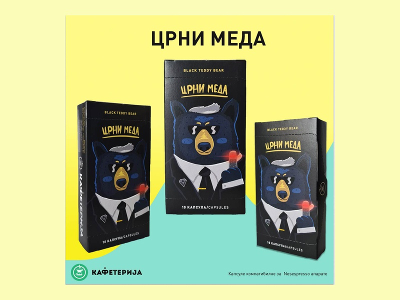 Crni meda branding mobile app design vector ui ux icon beauty website logo design design