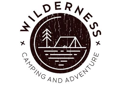 Ligo camping logo nature
