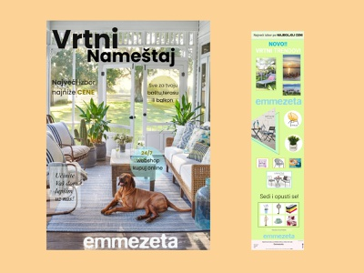Emmezeta design catalog uxdesign furniture app logo minimal logo design typography illustration website web design app newsletter catalogue branding design