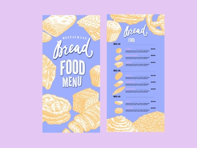 Food Menu Re design minimal illustration logo beauty ux mobile app design logo design vector branding website