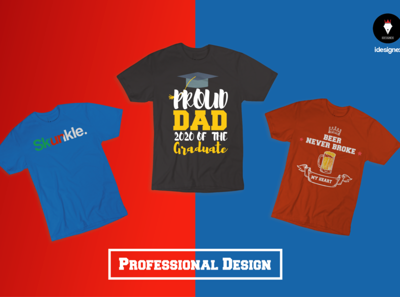 Amazing t shirt design for pod business