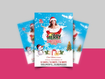 Marry Christmas Party Flyer